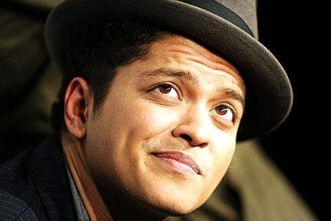 Bruno Mars Madrid concert November 15th