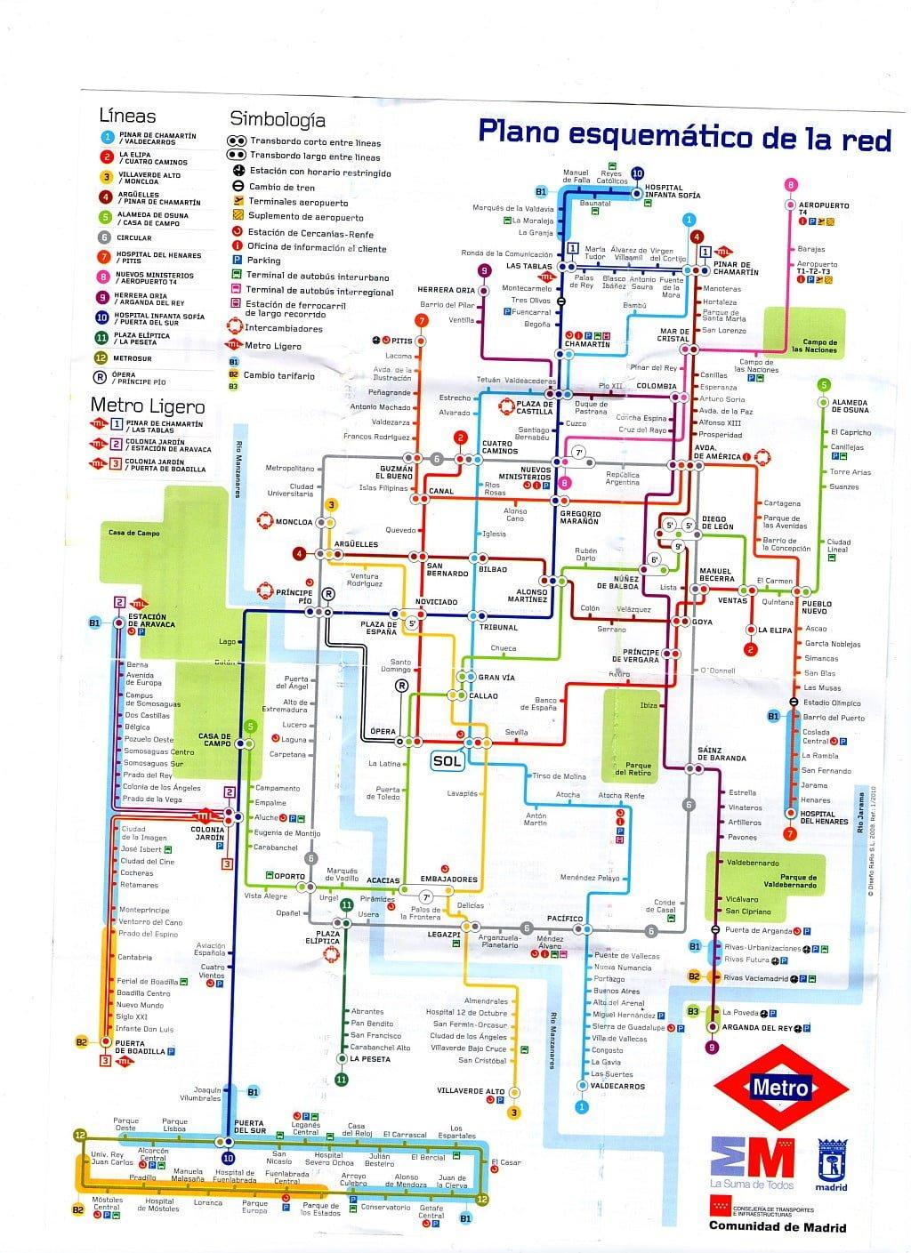 madrid térkép  madrid térkép